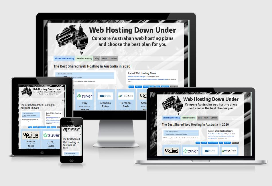 Web Hosting Down Under